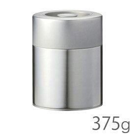 江東堂高橋製作所 茶筒 生地缶 平缶 手付375g 日本製 JAN: 4516462900124