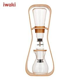 iwaki イワキ SNOWTOP (スノートップ) ウォータードリップコーヒーサーバー 【Uhuru】 440ml K8635-M /耐熱ガラス製 /AGCテクノグラス JAN: 4905284155285【送料無料】 [T]