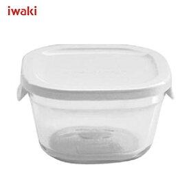 ★iwaki イワキ パック&レンジ プチ (ホワイト) 220ml N3200-W /耐熱ガラス製 /AGCテクノグラス JAN: 4905284064846