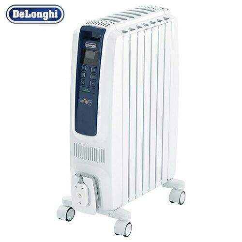 デロンギ ドラゴンデジタルスマート オイルヒーター 【3〜8畳用】1200W Delonghi QSD0712-MB 【送料無料】
