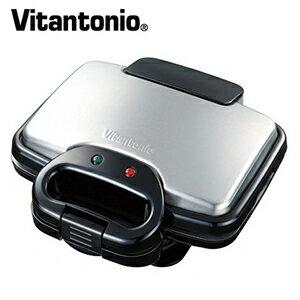 【ワッフルメーカー】 Vitantonio ビタントニオ ワッフル&ホットサンドベーカー (ブラック) VWH-200-K 【送料無料】