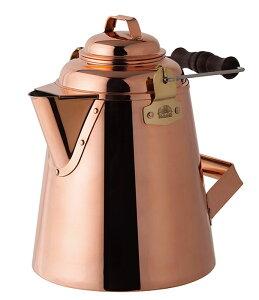 日本製 グランマーコッパーケトル(大)28349 ファイヤーサイド 銅製ケトル アウトドア 薪ストーブ 職人 銅の一品 お湯 風合い 熟練 代引き不可