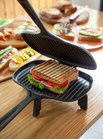 LAVA ホットサンドトースター 62523 パン グリルパン サンドイッチ イングリッシュマフィン 焼きおにぎり 肉 野菜グリル キャンプ アウトドア 薪ストーブ ガス IH