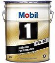 モービル1 Mobil1 0W-40 0W40 20L ベンツ VW 承認 高性能スポーツ ターボ 化学合成油 エンジンオイル 究極のパフォー…