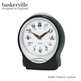 ZOO アラームクロック 動物 アニマル 置き時計 テーブルクロック アナログ