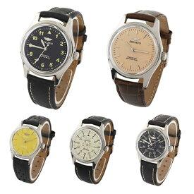 【ゆうパケット不可】ZEGATO ゼガト 腕時計 手巻き式 男女兼用 革ベルト