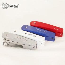 kanex 555 ホチキス ホッチキス 輸入 文具 ステープラー おしゃれ 外国 30枚 カネックス かわいい