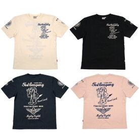 テッドマン TDSS-497 半袖抜染Tシャツ『8th AIR FORCE』