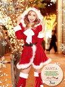 サンタ コスプレ サンタ 衣装 長袖 大きいサイズ M L かわいい セクシー クリスマス コスプレ コスチューム サンタク…