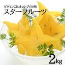 【送料無料】沖縄産スターフルーツ2kg(8〜14玉)星の形 無添加沖縄フルーツ お歳暮