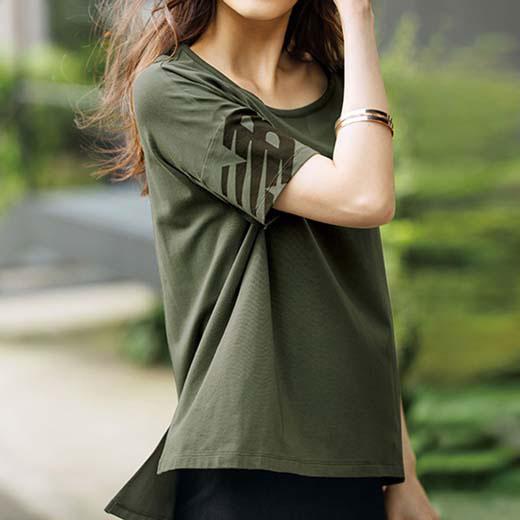 ●SALE!!セール●<new balance>シンプルTシャツ ryuryu/リュリュ 30代 40代 ファッション レディース 在庫処分 アウトレット【SALE_1122】 ブラックフライデー