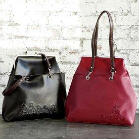 かばん <ムーミン>A4対応がま口トートバッグ ryuryu リュリュ レディース 夏 夏服 かばん バッグ 鞄 40代 レディースファッション