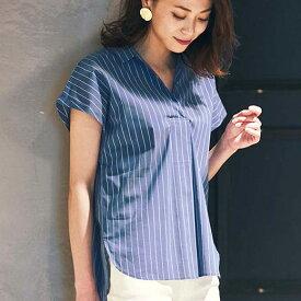ブラウス タックデザインブラウス 40代 レディース 40代 レディースファッション ryuryu リュリュ 大人 夏 夏服 トップス 大きいサイズ