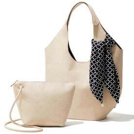 バッグ 鞄スカーフ付くり手デザインセットバッグ ryuryu リュリュ レディース 春 春服 夏 夏服 40代 レディースファッション
