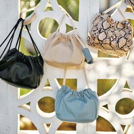 40代 レディースファッションバッグ(婦人) 巾着ミニショルダーバッグ ryuryu リュリュ レディース 春 春服 夏 夏服