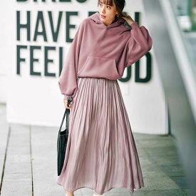 ワンピース S M L LL 3L パーカードッキングワンピース(S〜3L) 40代 レディースファッション ryuryu リュリュ 大人 秋 秋服 大人 40代 ファッション 大きいサイズ