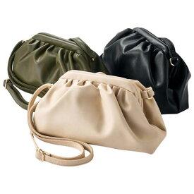 ファッションバッグ(婦人) 柔らかフェイクレザーショルダーバッグ 40代 レディースファッション ryuryu リュリュ 大人 秋 秋服 40代 ファッション