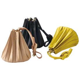 ファッションバッグ(婦人) プリーツデザインショルダーバッグ 40代 レディースファッション ryuryu リュリュ 大人 秋 秋服 40代 ファッション