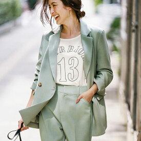 【MAX1000円OFFクーポン配布中】ジャケット M L LL 3L ダブルテーラードジャケット(M〜3L) リュリュ 40代 ファッション 40代 レディースファッション 春 春服 アウター