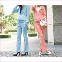 ●SALE!!セール●ビジュー付パイルセットアップ(M〜LL) ryuryu/リュリュ らなん 30代 ファッション レディース アウトレット