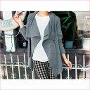 ●SALE!!セール●アシメトリーデザインブルゾン(S〜LL) ryuryu/リュリュ らなん 30代 ファッション レディース アウトレット