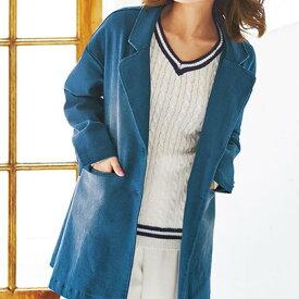 ●SALE!!セール●デニムチェスターコート ryuryu/リュリュ 30代 40代 ファッション レディース 秋服 在庫処分 アウトレット