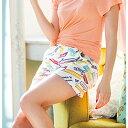 ●SALE!!セール●プリントショートパンツ ryuryu/リュリュ30代 ファッション レディース アウトレット【再販売】