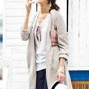 ロングコート M LL L 3Lノーカラーロングコート ryuryu/リュリュ ラナン Ranan 30代 40代 ファッション レディース