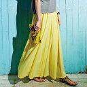 フレアースカート M LL L 3Lフレアマキシスカート ryuryu/リュリュ らなん ラナン Ranan 30代 40代 ファッション レ…
