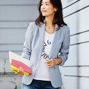 ジャケット M LL L洗えるテーラードジャケット(M〜LL) ryuryu/リュリュ らなん ラナン Ranan 30代 40代 ファッション レディース
