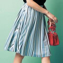 スカートLL 3L美シルエットタックフレアースカート(LL〜3L) ryuryu/リュリュ らなん 30代 ファッション レディース 大…
