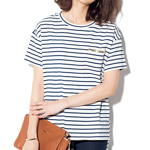 ●SALE!!セール●カットソー レディース 夏 S M LL Lサイズ綿100%ゆるシルエットTシャツ(S〜LL) ryuryu リュリュ 30代 ファッション レディース アウトレット 白 ホワイト 母の日 40代 在庫処分