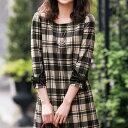 カットソー S M LL L袖リボンワンピース(S〜LL) ryuryu リュリュ 30代 ファッション レディース ミニュー minuw 40代 …