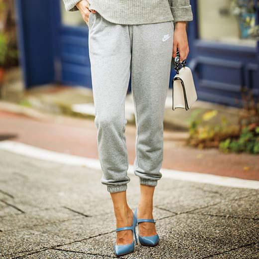 【クーポン配布中】ナイキ ボトムスS M L<NIKE>フレンチテリーパンツ ryuryu/リュリュ ラナン Ranan 30代 40代 ファッション レディースボトムス レディース