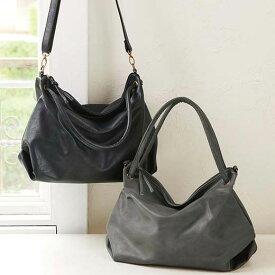かばんくったりシルエットが大人可愛い2WAYバッグ ryuryu/リュリュ 30代 40代 ファッション レディース ラナン Ranan 春服 かばん バッグ 鞄