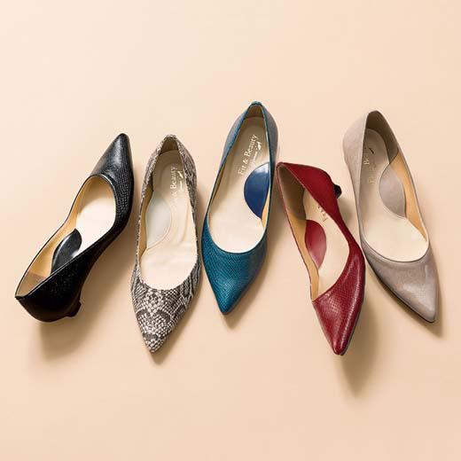 パンプス 25.0cm 24.5cm 24.0cm 23.5cm 23.0cm 22.5cm 22.0cm日本製らくらくキレイなローヒールパンプス(全19色)(22.0cm〜25.0cm) ryuryu リュリュ ラナン Ranan 夏 30代 40代 ファッション レディース シューズ 靴 通勤 オフィス ブラック 歩きやすい