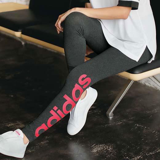 アディダス スパッツ S M L<adidas>リニアタイツryuryu リュリュ ラナン Ranan 夏 レディース 30代 40代 ファッション スパッツ ランニング スポーツ 運動 レギンス アンダーウェア 夏服