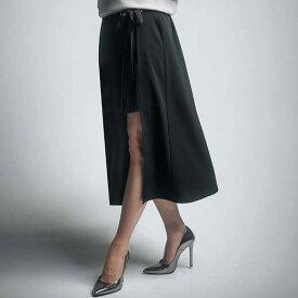スカート(膝丈) 3Lラップ風プリーツスカート(3L) ryuryu/リュリュ 30代 40代 ファッション レディース 大きいサイズ GeeRA ジーラ 夏服 ボトムス スカート ひざ丈 ミディアム