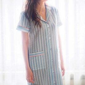 ●SALE!!セール● パジャマ S M L LL夏素材のシャツワンピ ryuryu リュリュ 30代 40代 ファッション レディースパジャマ ルームウェア アウトレット サマーセール 半額以下