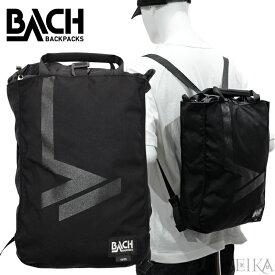 【7】バッハ BACH バックパック COVE12【129811】 リュックサック リュック バッグ ブラック 鞄 かばん 通勤 通学 ギフト