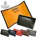 ETTINGER エッティンガー (7)BH2095JR 6連キーケース 背面ポケット付BLACK ブラック NAVY ネイビー BRIDLE KEY CASE ブライドルハイドコレクション メンズ ギフト (CPT)