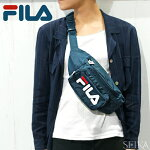 ×(対象商品と同梱で送料無料)フィラFILALA171J81ウエストポーチボディバッグ鞄かばんネイビービッグロゴ