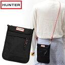 【サマークリアランス】ハンター HUNTER UBP7012KBM BLK(17) オリジナル パッカブル フォン ポーチ ブラック ショルダーバッグカバン 鞄 バッグ かばん キャッシュレス【0703】 ギフト (CPT)