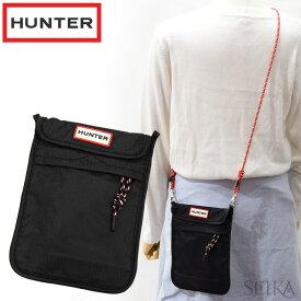 【Fashion THE SALE】 ハンター HUNTER UBP7012KBM BLK(17) オリジナル パッカブル フォン ポーチ ブラック ショルダーバッグ 【CPT】カバン 鞄 バッグ かばん キャッシュレス