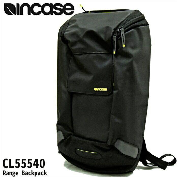 【当店ならお得クーポンあり!】【クリアランス】INCASE インケース Range Backpack【7】CL55540 リュックブラック メンズ レディース通勤 通学 鞄 かばん 【ID】【G2】