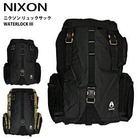 ニクソン NIXON リュックサックC28121148 C28122865 WATERLOCK III(ウォーターロック3)リュック バック カバン 鞄 バッグ バックパック デイパック