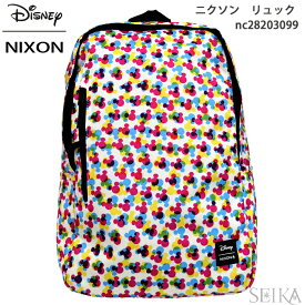 NIXON ニクソン リュック バックパックSMITH SE II BACKPACK NC28203099(10)THE MICKEY MOUSE 90TH ANNIVERSARY Collectionバック カバン バッグ ディズニー ミッキー 90周年