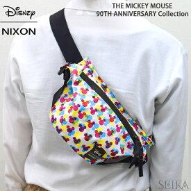 (期間限定送料無料!)NIXON ニクソン ボディバッグ ヒップバッグTRESTLES HIP PACK BAG NC28513099(11)MICKEY ウエストバッグ ディズニー ミッキー 90周年 【CPT】