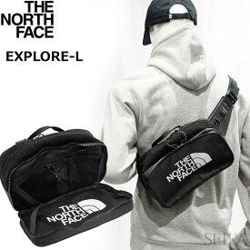 ノースフェイス ボディバッグ【27】THE NORTH FACE ザ・ノースフェイス NF0A3KYHKX7TNFBLACK ブラックEXPLORE BLT L ボディバッグ ウエストバッグ ザ・ノース・フェイスウエストポーチ カバン バッグ 鞄 かばん