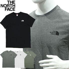 【楽天スーパーSALE】【クリアランス】 ノースフェイス Tシャツ 半袖 THE NORTH FACE S/S Simple Dome TeeNF0A2TX5 (7)FN41 ホワイト (8)JK31 ブラック (9)N4L1 ブルー シンプルドーム メンズ ロゴ Tシャツ アパレル ギフト (CPT)